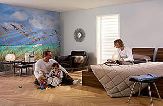 Summer Breeze Wall Mural Roomsetting