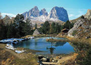 Dolomite Alps Italy Wall Mural DS8077