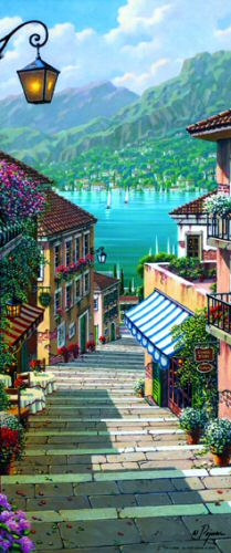 Bellagio Path Wall Mural