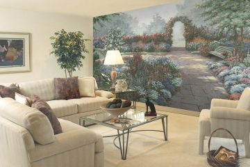 Serenity Wall Mural C821 roomsetting