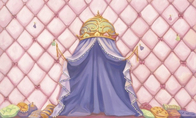 Princess Canopy Wall Mural C863