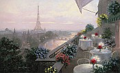 Paris Dinner Wall Mural