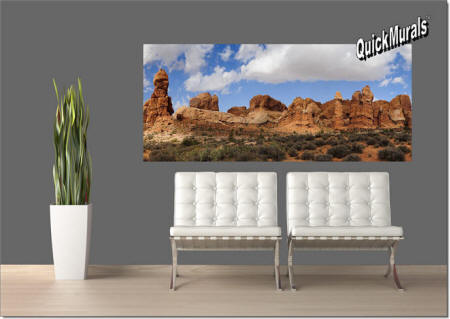 Canyonlands Park, Utah Wall Mural roomsetting