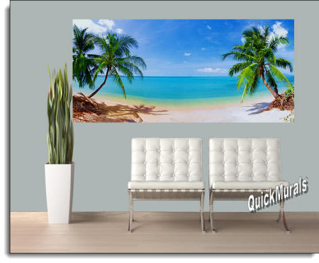 Coconut Beach Wall Mural