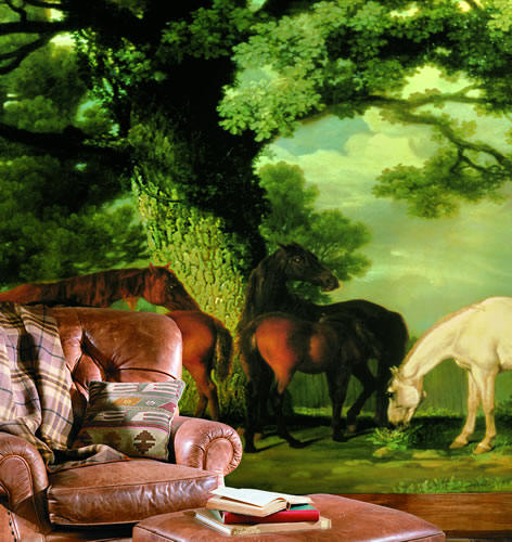 Green Pastures Wall Mural