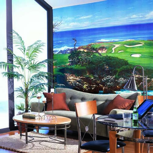 Cypress Point Wall Mural roomsetting