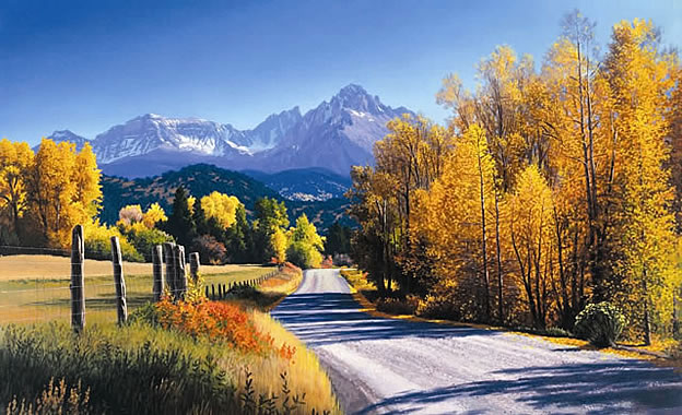Autumn Landscape Wall Mural